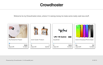 Crowdhoster